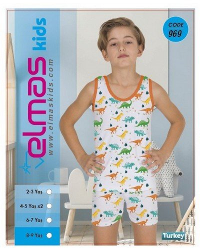Пижама на мальчика ELMAS KIDS 969 ТУРЦИЯ