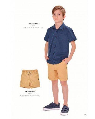 Рубашка на мальчика WONDER KIDS 7315 ТУРЦИЯ