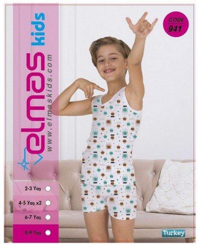 Пижама на мальчика ELMAS KIDS 941 ТУРЦИЯ