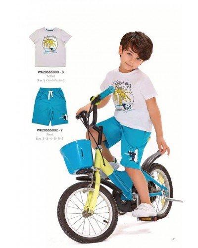 Футболка на мальчика WONDER KIDS 5000-B ТУРЦИЯ