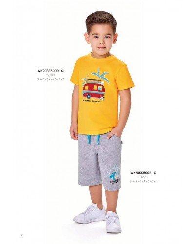 Футболка на мальчика WONDER KIDS 5000-S ТУРЦИЯ