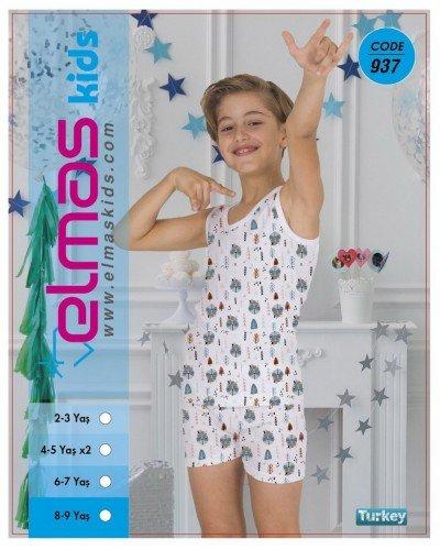 Пижама на мальчика ELMAS KIDS 937 ТУРЦИЯ