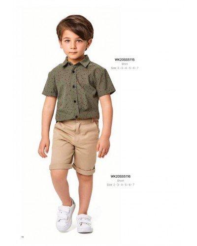 Рубашка на мальчика WONDER KIDS 5115 ТУРЦИЯ
