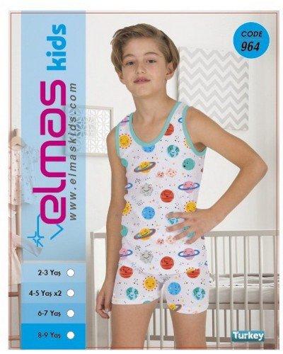 Пижама на мальчика ELMAS KIDS 964 ТУРЦИЯ