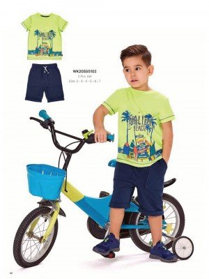 Комплект 2-ка на мальчика WONDER KIDS 5102 ТУРЦИЯ