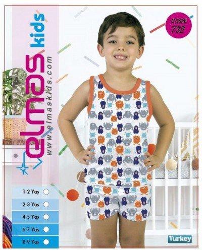 Пижама на мальчика ELMAS KIDS 732 ТУРЦИЯ