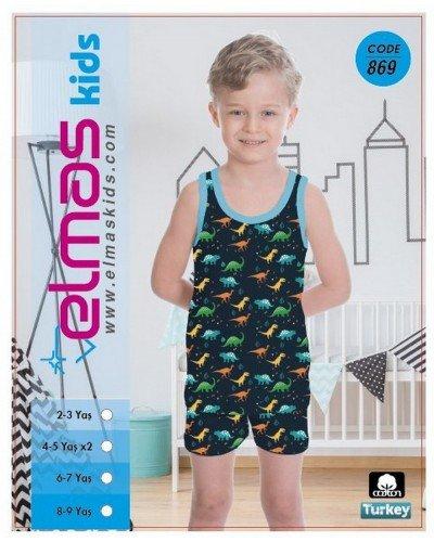 Пижама на мальчика ELMAS KIDS 869 ТУРЦИЯ