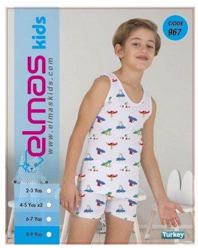 Пижама на мальчика ELMAS KIDS 967 ТУРЦИЯ