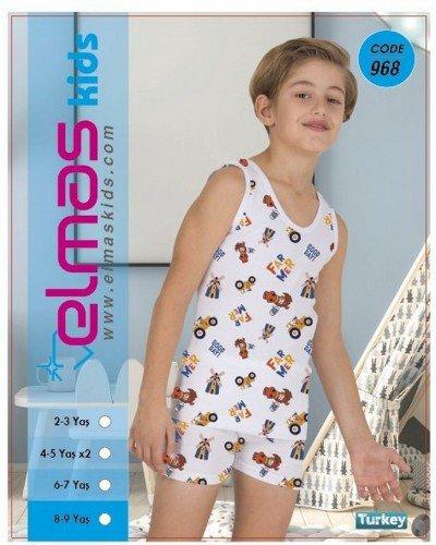 Пижама на мальчика ELMAS KIDS 968 ТУРЦИЯ