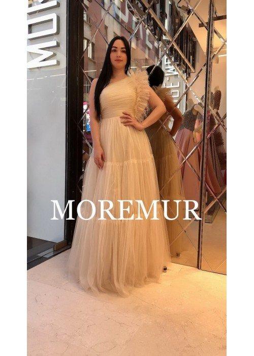 Вечернее платье MOREMUR IMG-70-WA0317 ТУРЦИЯ