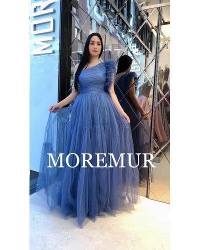 Вечернее платье MOREMUR IMG-70-WA0308 ТУРЦИЯ