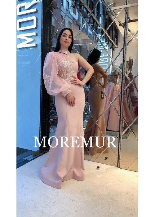 Вечернее платье MOREMUR IMG-60-WA0304 ТУРЦИЯ