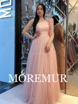 Вечернее платье MOREMUR IMG-70-WA0307 ТУРЦИЯ