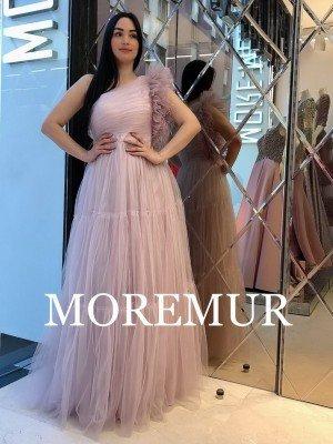 Вечернее платье MOREMUR IMG-70-WA0309 ТУРЦИЯ