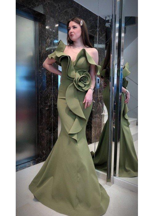Вечернее платье MOREMUR 69_39286 ТУРЦИЯ